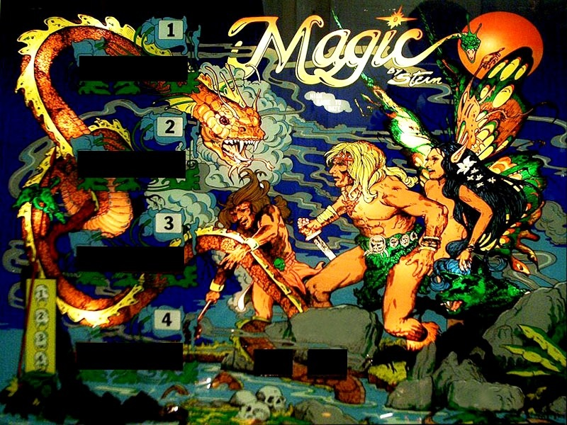 Stern Magic arcade game