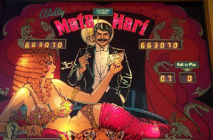 Mata Hari - Bally - $1,600.00