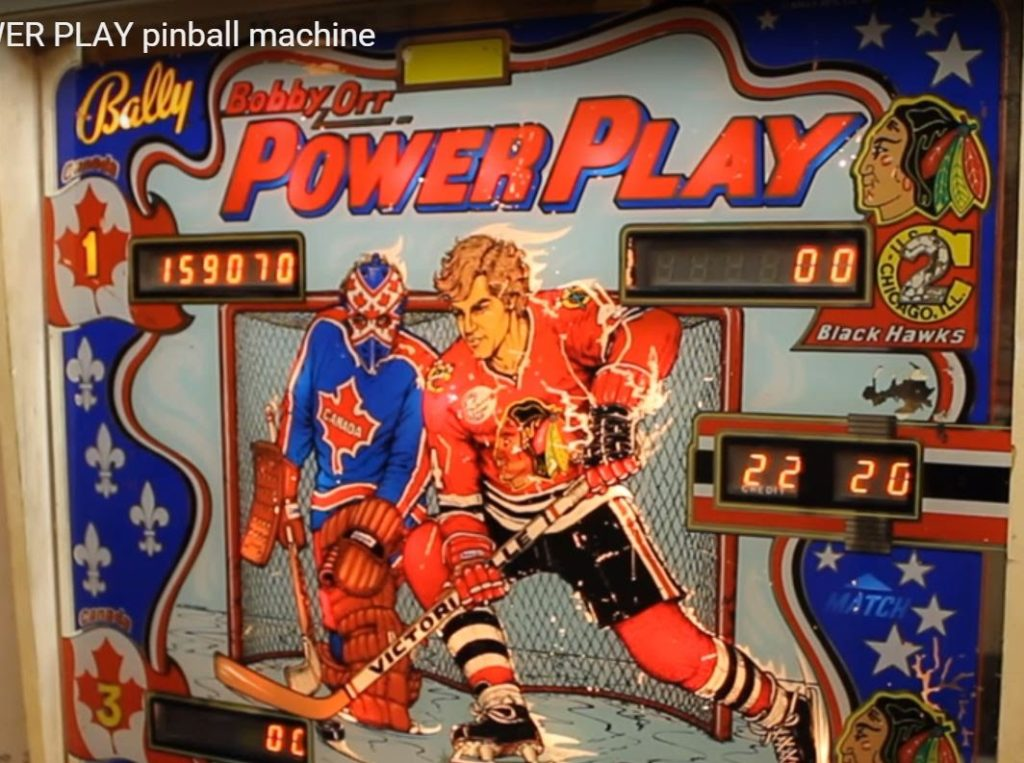 Powerplay arcade game