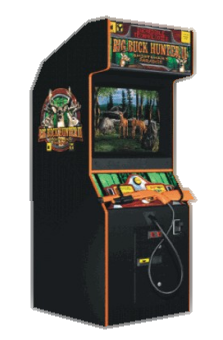 arcade game stand up style