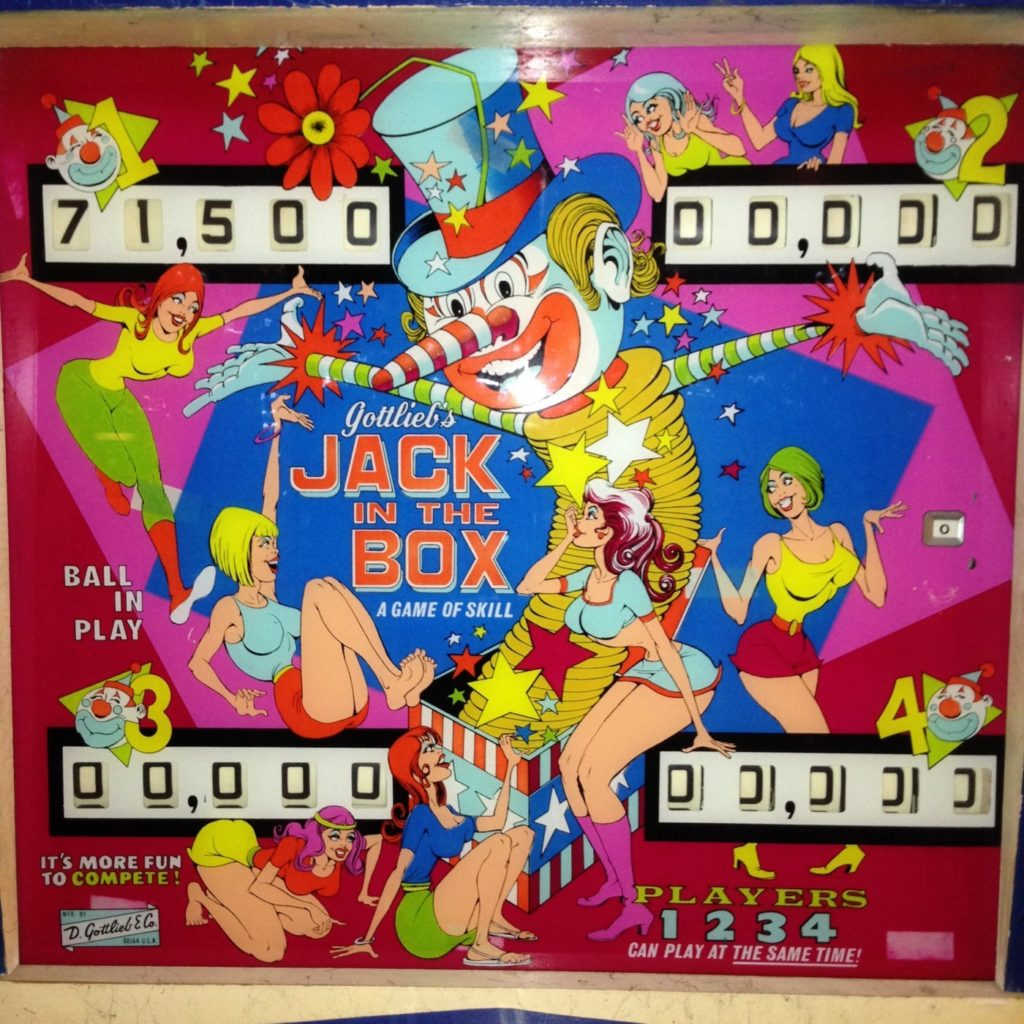 Jack In The Box - Gottlieb - $1,400.00