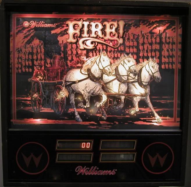 Fire - Williams - $2,800.00