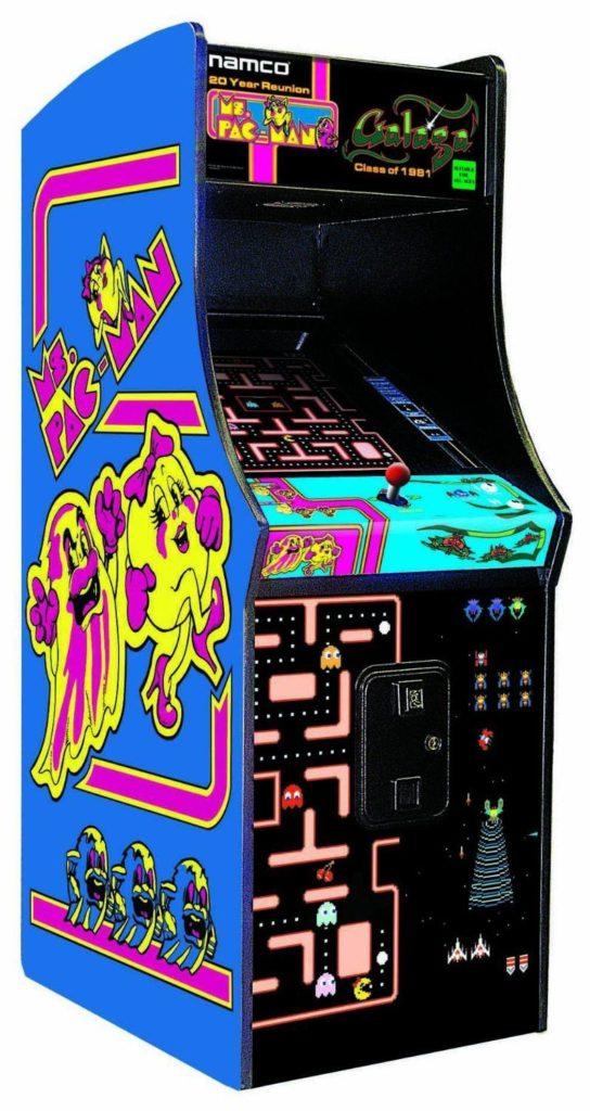 Ms Pac Man Reunion icd screen game