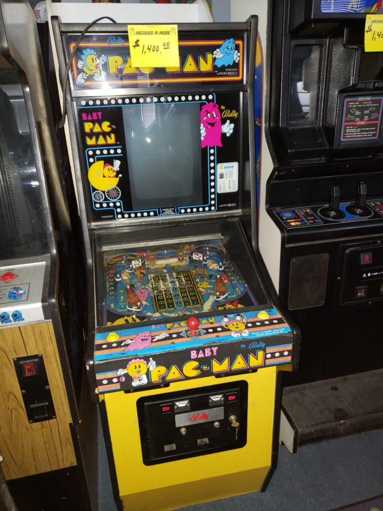 Baby Pac-Man - $1,400.00