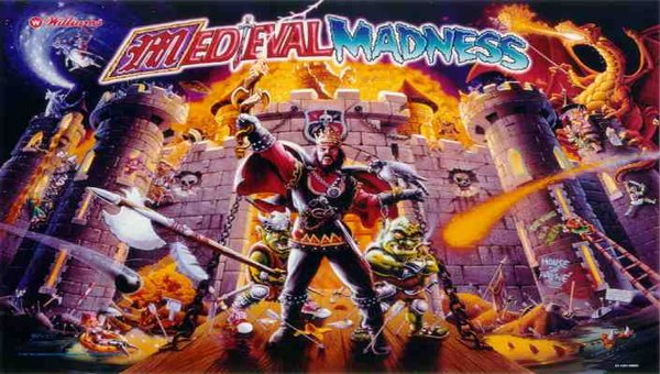 Medieval Madness - All original ! Collector quality!! $9,800.00