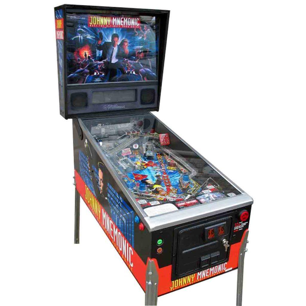 Johnny Mnemonic Pinball Machine - $3,200.00