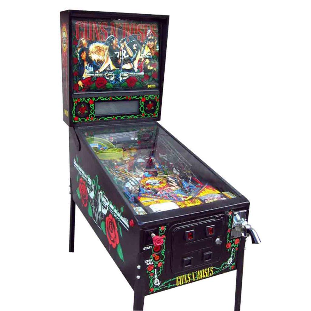 Guns N' Roses Pinball Machine - $5,800.00