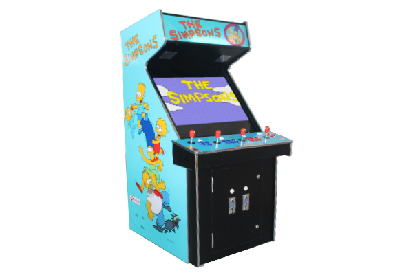 The-Simpsons 4-Player - new control panel with new lexan $1,800.00