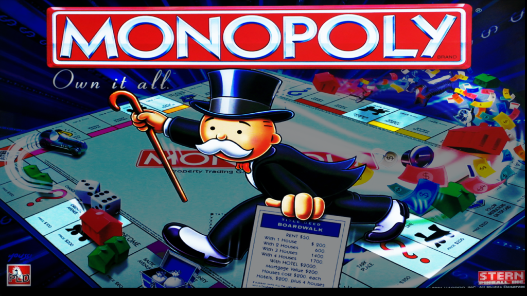 Monopoly Pinball   Home used Only!!   $4,200.00