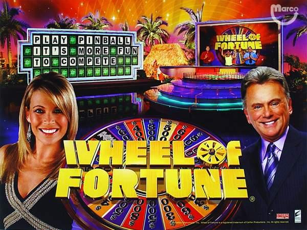 Wheel of Fortune Pinball - Home used only! 198 plays   Really! $4,200.00